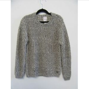 CARREMENT BEAU chunky knit sweater boys sz 10Y